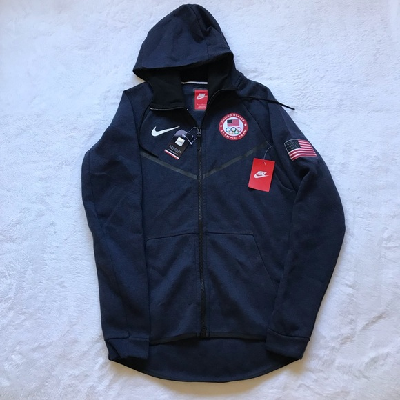 Nike Tech Fleece Team USA Olympics Men's Hoodie NWT